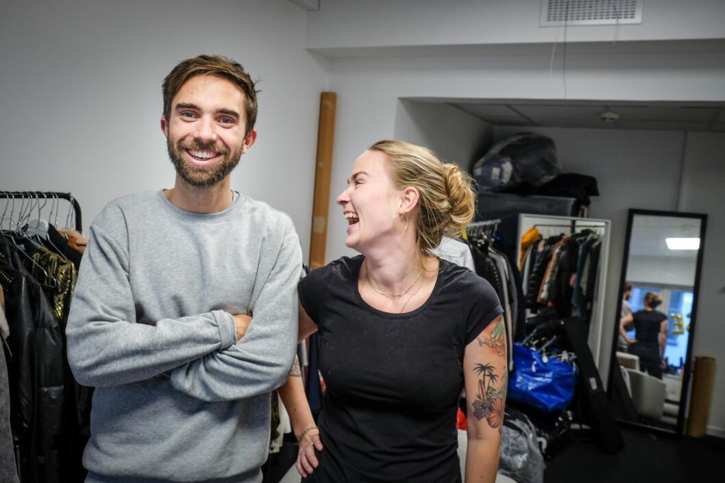 Gründer og daglig leder Eirik Rime i Tise har sammen med markedssjef Victoria Terese Hauk lagt planen for å konvertere nedlastinger til aktive brukere.