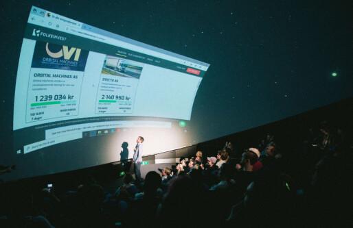 Romfarts-startup fulltegnet folkeinvestering: Fikk inn 1,5 millioner under kickoff-event