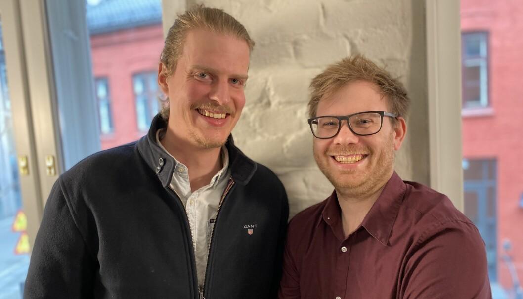 Torbjørn Bull Jenssen og Jon Ramvi.