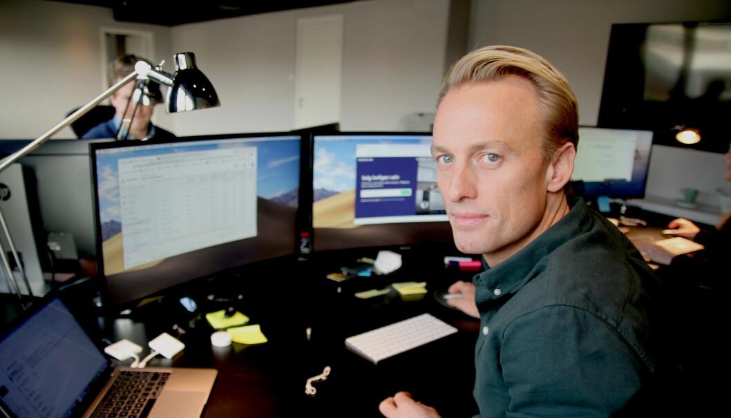 Kjetil Eriksson, daglig leder i Propr.