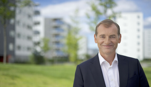 Carl. O. Geving i Eiendomsmeglerforbundet. FOTO: