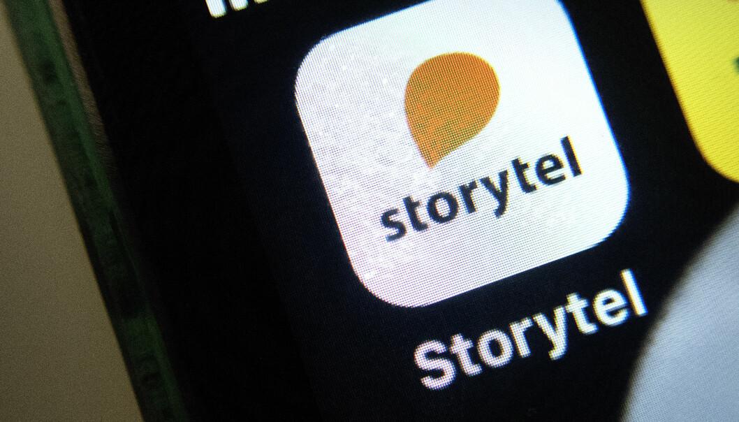 Oslo  20190314. Illustrasjonsfoto:  Storytel appen. Foto: Gorm Kallestad / NTB scanpix