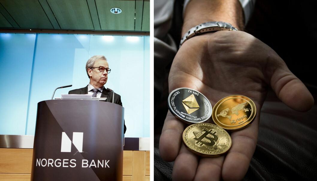 Den norske sentralbanken jobber med muligheten for digitale sentralbankpenger.