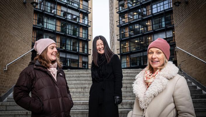 Lifeplanner-teamet: IT-ansvarlig Kathleen Meling, daglig leder Lillian van Cuilenborg og markedsansvarlig Stine Fiksdal.