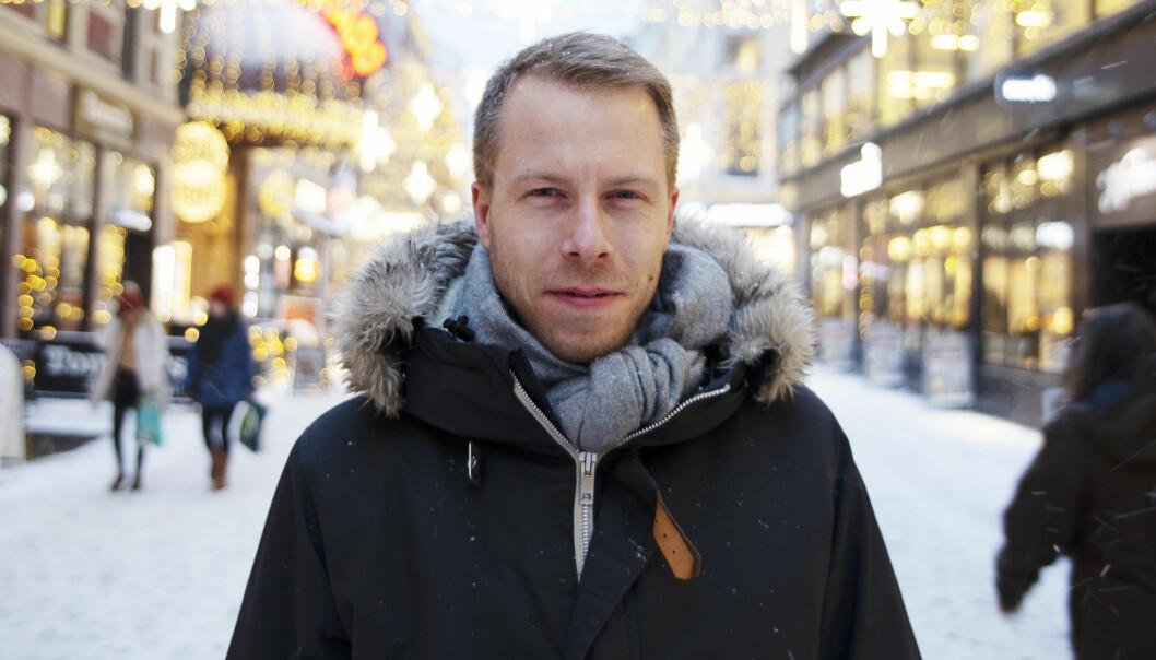 Patrik Berglund i Xeneta.