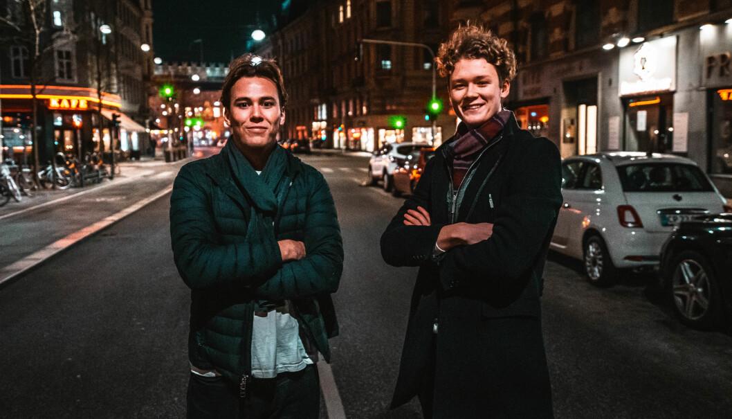 Henrik Johannessen og Sebastian Haugeto har flyttet til København for å få fart på Tjommi-veksten.