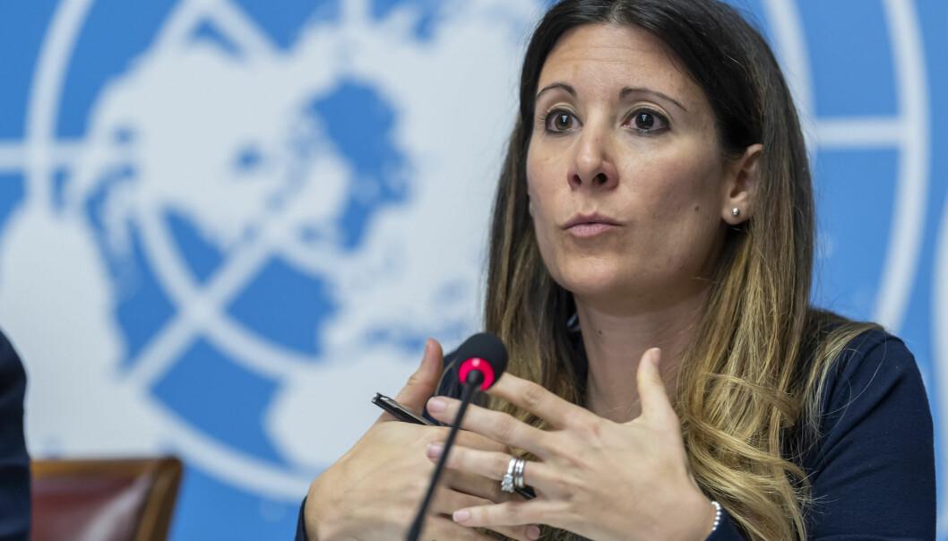 Maria van Kerkhove leder taskforce-enheten som jobber med coronaviruset i WHO.