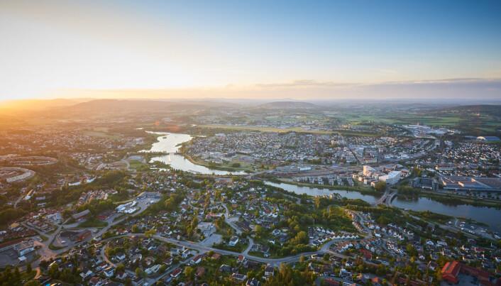 Lillestrøm vokser hurtig – og har fortsatt god plass til å vokse mer. Foto: Lillestrøm kommune.