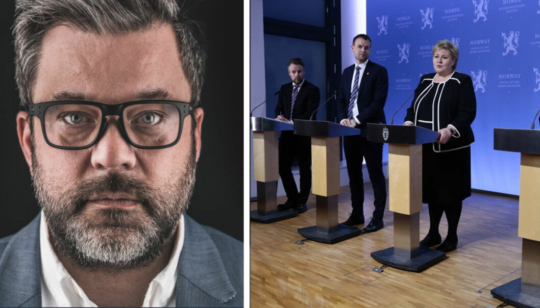 Caspar Macody Lund i Vekstlandet synes ikke krisepakken favner selvstendig næringsdrivende