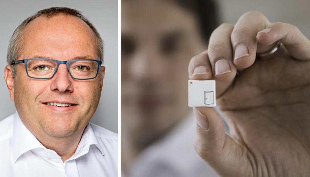 CEO Bengt-Johannes Lundberg i Disruptive Technologies har gjennomført en omfattende nedbemanning i selskapet.