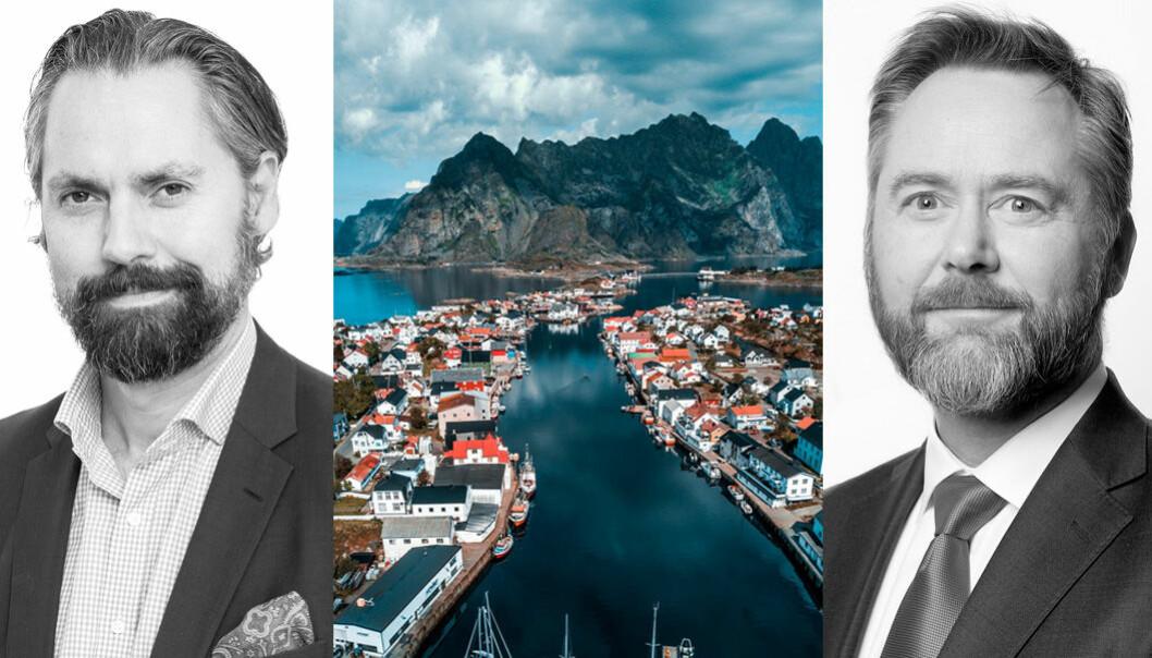 Johan Bøe Bjørkevoll og Ola Smeby styrer koinvesteringsfondet for Innovasjon Norge