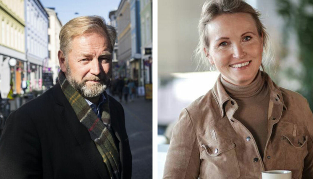 Styreleder i Investinor, Thomas Falck og Anne Worsøe i Farmhouse Capital