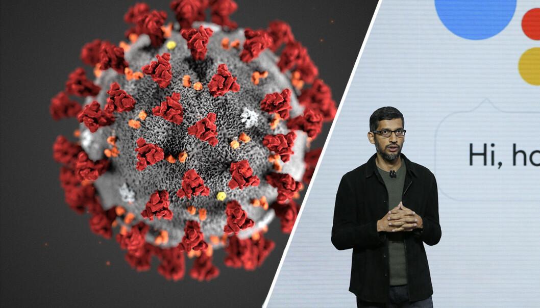 Leif Hamnes i Cyberforsvaret mener CEO Sundar Pichai i Google må bruke kreftene i kampen mot Covid19.