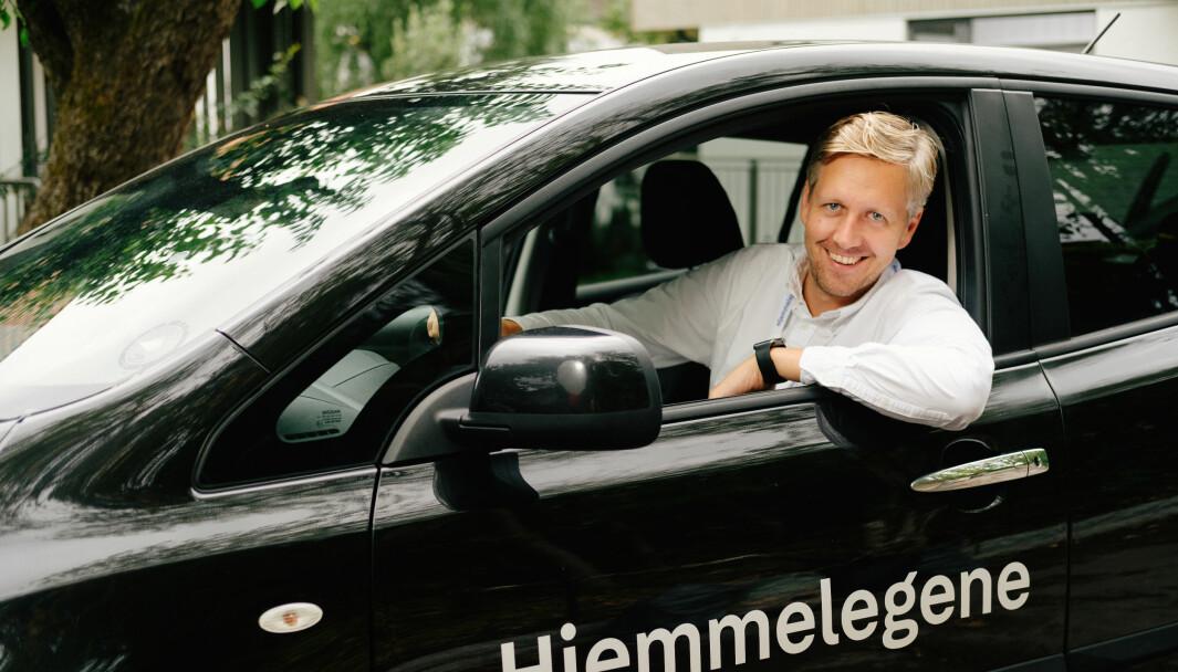 Nicolai Skarsgård, lege og daglig leder i Hjemmelegene,