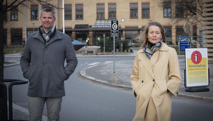 Yngve Kristiansen i Fidem Capital Partners og Kathrine Myhre i Norway Health Tech.