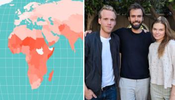 SafetyWing åpner opp interaktivt corona-kart: Samler livsviktig informasjon fra hele verden