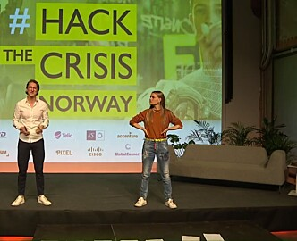 «Hacket» coronakrisen på 47 timer: Nå får arrangørene bak det norske eventet internasjonal rolle