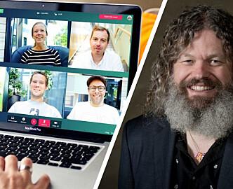 Han mener sikkerheten i Whereby er mer enn god nok: Ber Osloskolen lytte til foreldrene