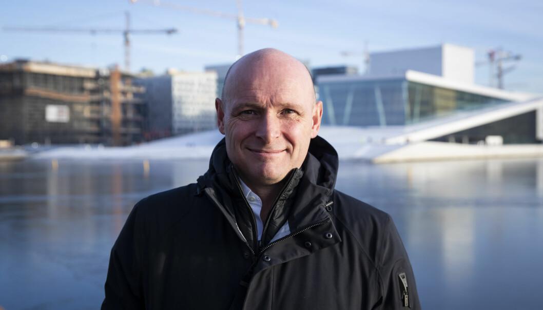 Geir Førre inviterer til kunnskapsdeling.