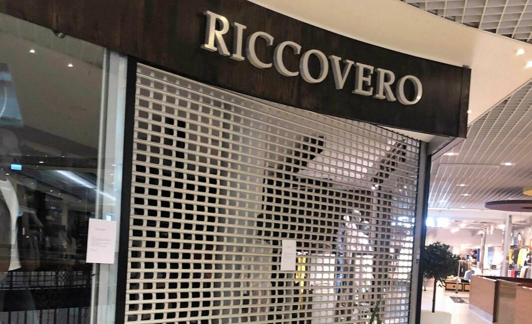 Riccoveros butikk på Byporten i Oslo.