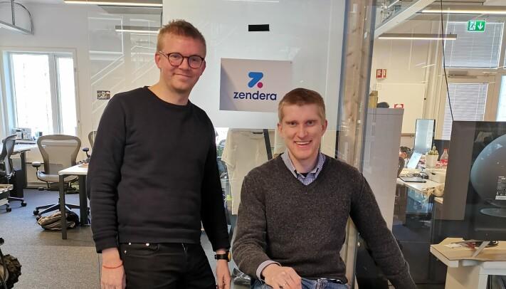 Edvard Nore og Kim Iversen i Zendera.