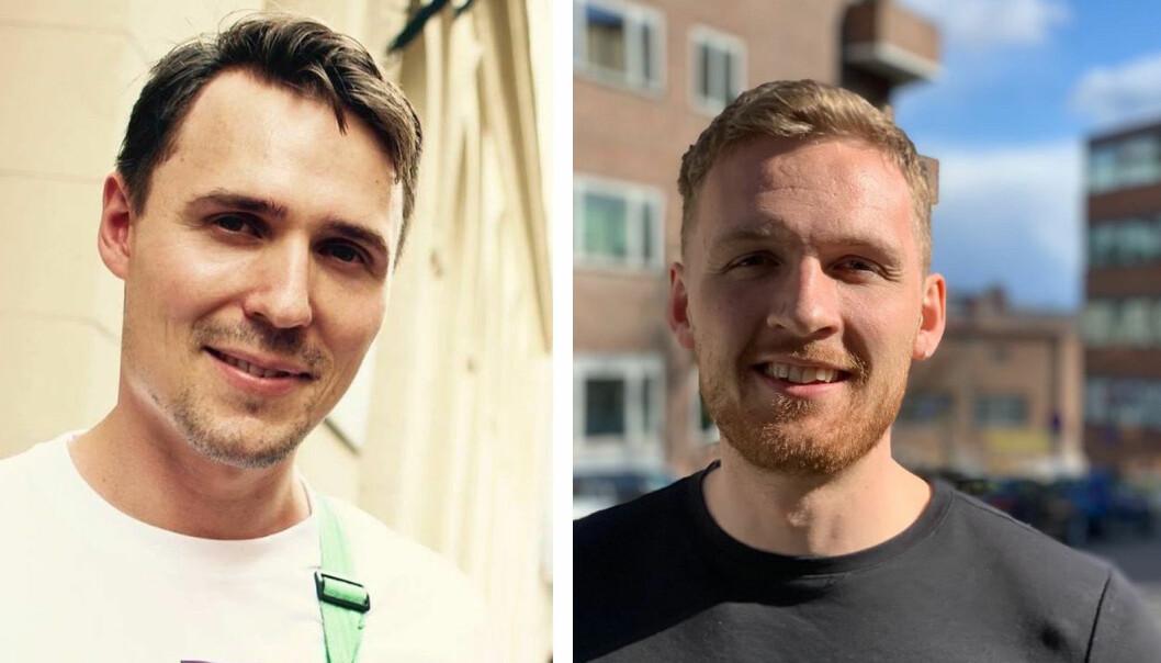 Tord Skagestad Wold og Marcus Resch står bak tjenesten Nion