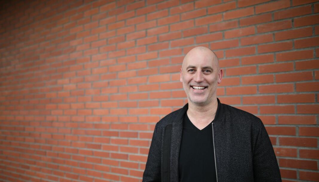Jonas Rinde er CEO av Spotics