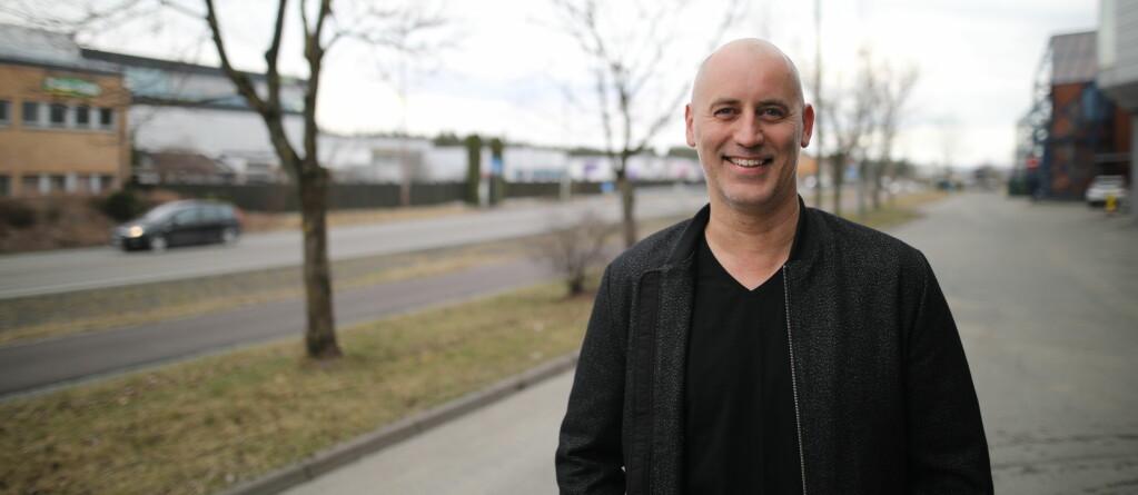 Jonas Rinde, CEO i Spotics