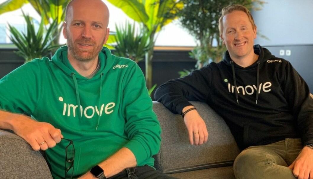 Gründerne av Imove, Gunnar Birkenfeldt og Hans Kristian Aas.