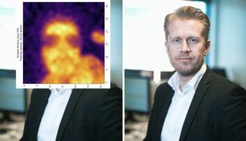 Richard Evje Pettersen er gründer og CTO i Vicotee - og et bilde av hvordan verktøyet illustrerer en feberfri Pettersen.