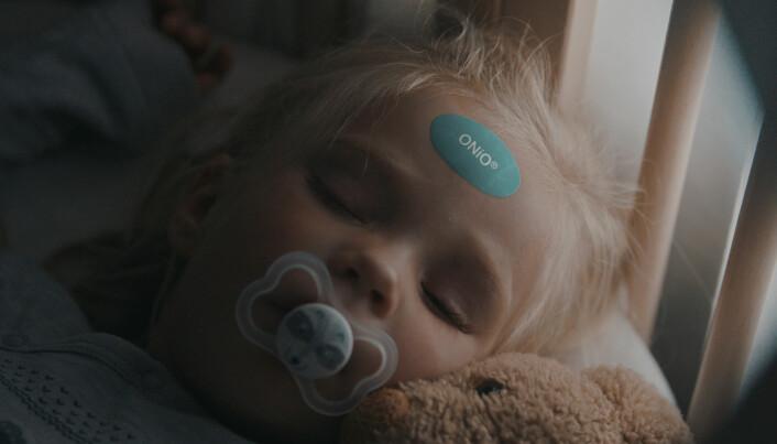 ONiO skal tilby kontinuerlig febermåling via trådløse og batteriløse sensorer formet som et lite plaster.