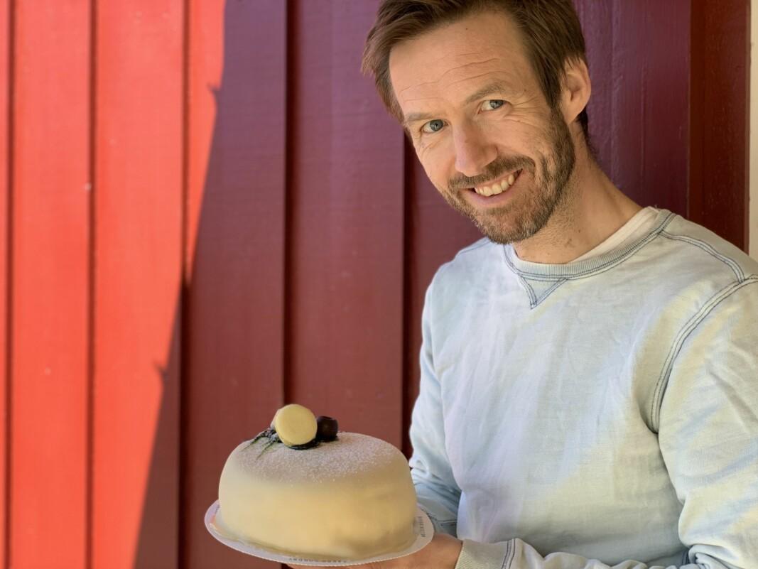 Steffen Gausemel Backes Cake it easy skulle giret opp til konfirmasjonsesongen nå. I stedet er det bom stopp - og ingen hjelp å få.