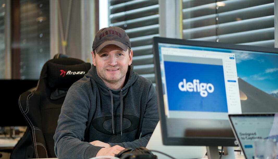Daglig leder i Defigo, Joachim Stray.