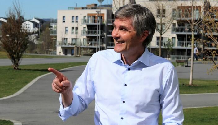 Pilene peker oppover for Cognite og stjernegründer John Markus Lervik.