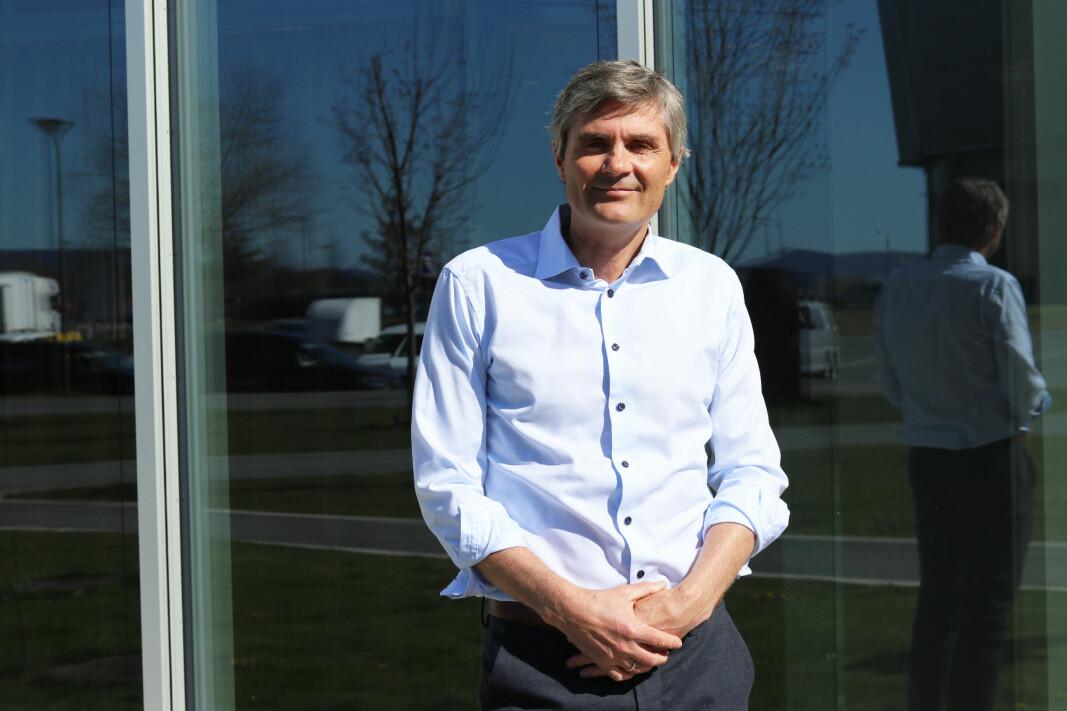 Cognite-sjef John Markus Lervik.