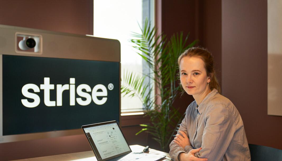 CEO i Strise, Marit Rødevand.