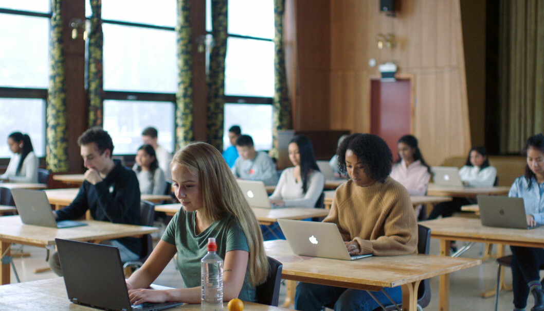 Inspera fikk vind i seilene da de nasjonale prøvene ble innført, men har etter hvert utvidet til universiteter og høyskoler også.