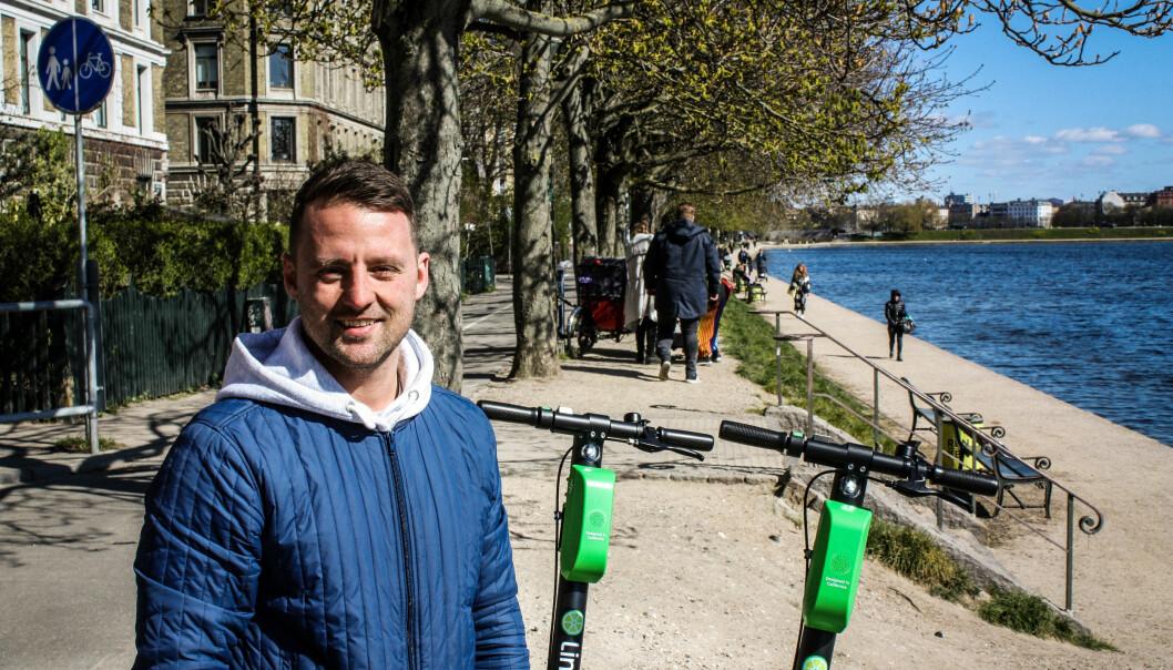 Nordisk sjef i Lime, Niklas Joensen