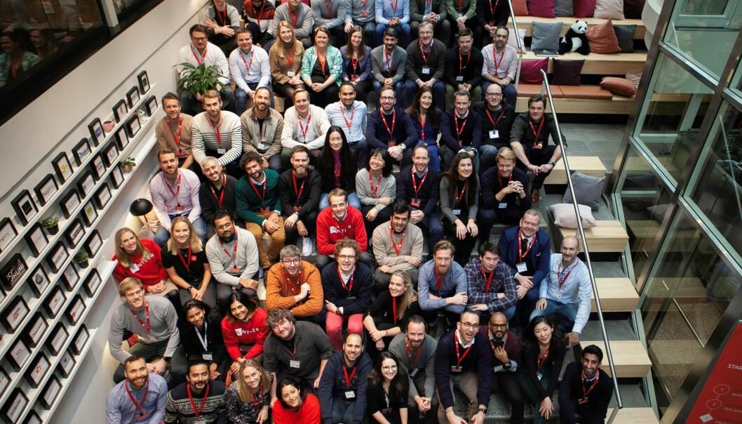 Vinteren 2020 åpnet Antler sitt første program i Norge. Bildet er tatt da programmet startet i januar.