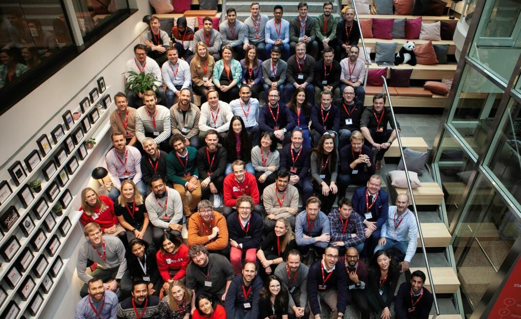 I vinter åpnet Antler sitt første program i Norge. Bildet er tatt da programmet startet i januar
