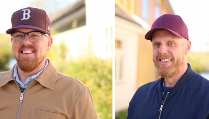 Simen Apenes og Morten Mo Apenes i Netron
