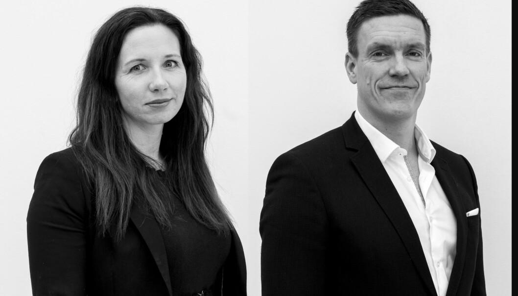 Gründer Agnete Fredriksen og CEO Michael Engsig i Vaccibody
