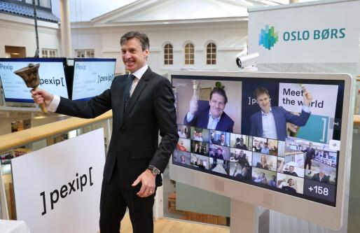 Pexip med «virtuell notering» på Oslo Børs: Økte med 3 milliarder over natten