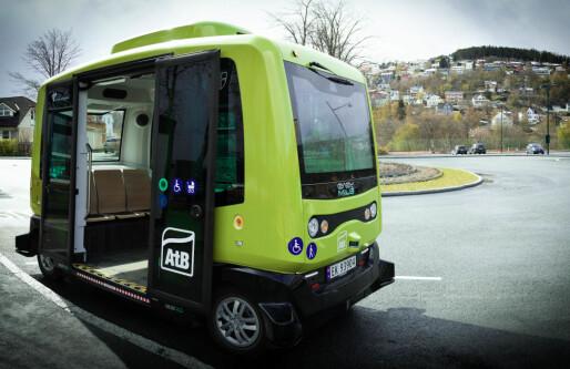 Trondheim med selvkjørende buss «on demand» i sommer