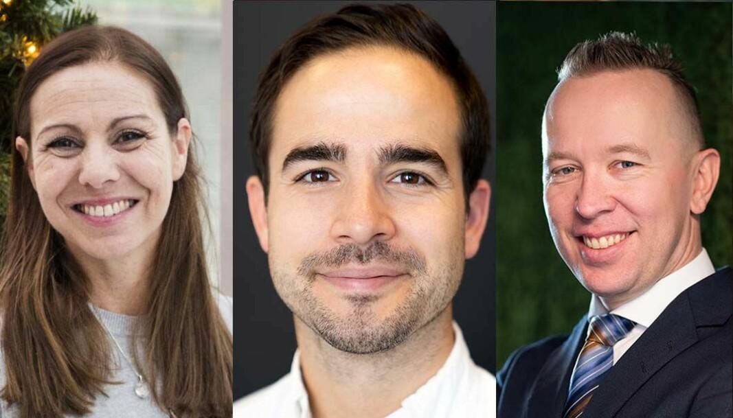 Heidi Frost Eriksen, Tor Daneshmand og Sverre Haugen har gode tips for å tiltrekke seg gode utviklere.