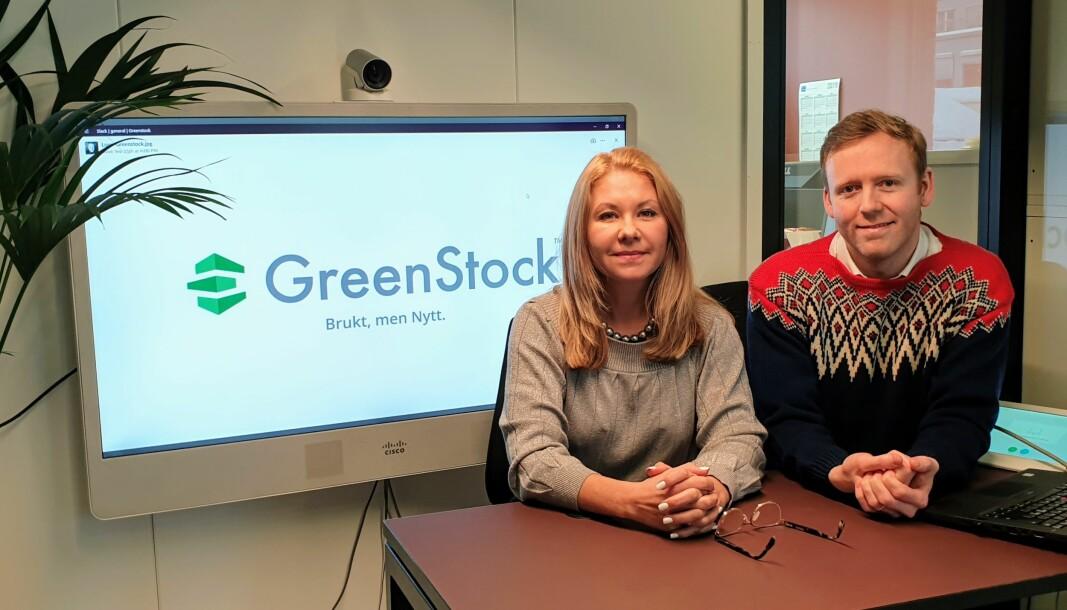 Katja Samara og Michael Curtis i GreenStock
