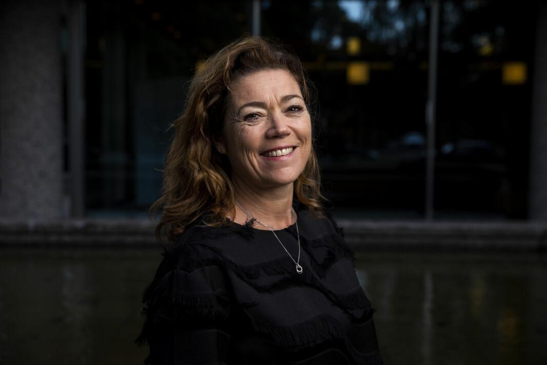 Konsernsjef Kristin Skogen Lund i Schibsted.