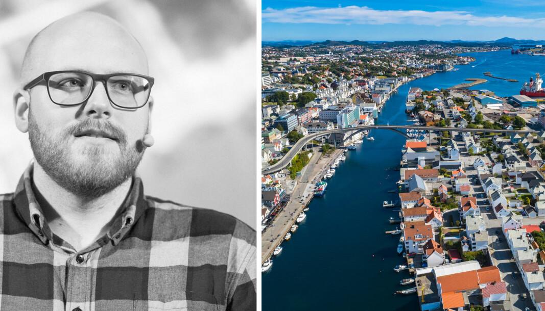 Gründer Hans Henriksen Marki vil gi maritime oppstartsbedrifter en smak av Haugesund