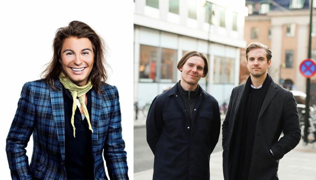 Erlend Elias er en av kjendisene som nå tilbyr å lage personlige videohilsner på den svenske plattformen Memmo, av gründerne Tobias Bengtsdal (COO) og Gustav Lundberg Toresson (CEO)