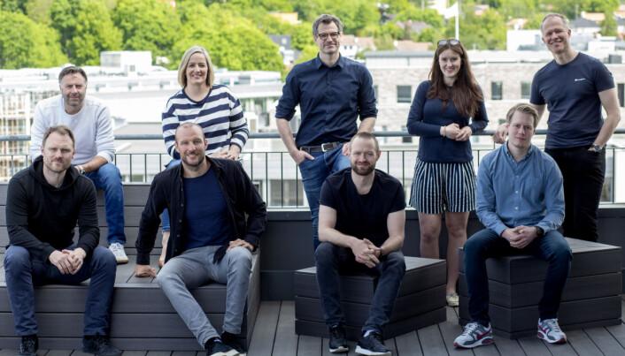 Teamet i det nye superfondet til Norselab og Alexander Woxen.